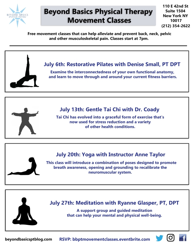 Summer Movement Class