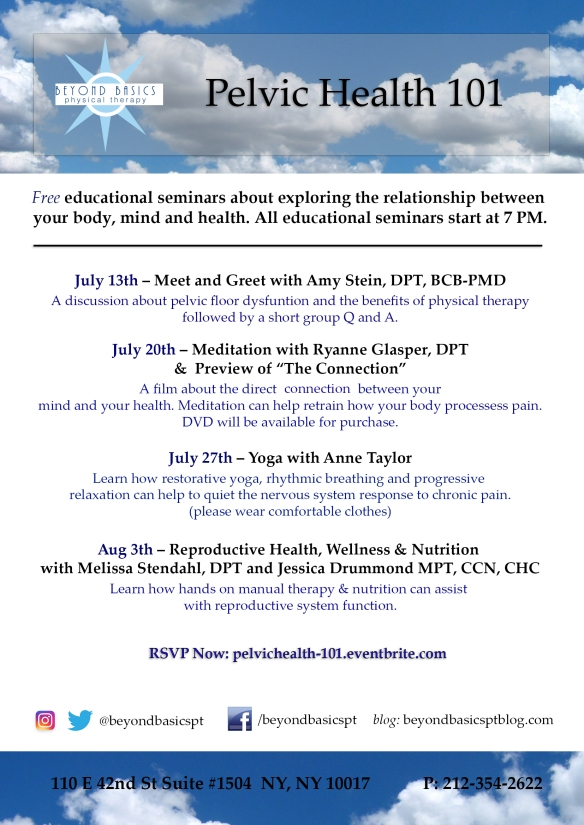Pelvic Health 101-