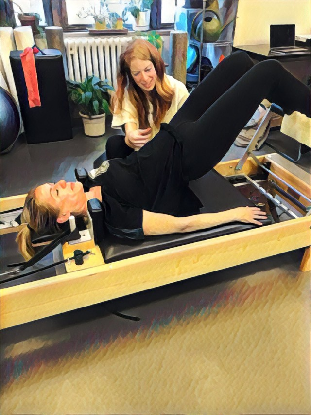 Amy on Reformer
